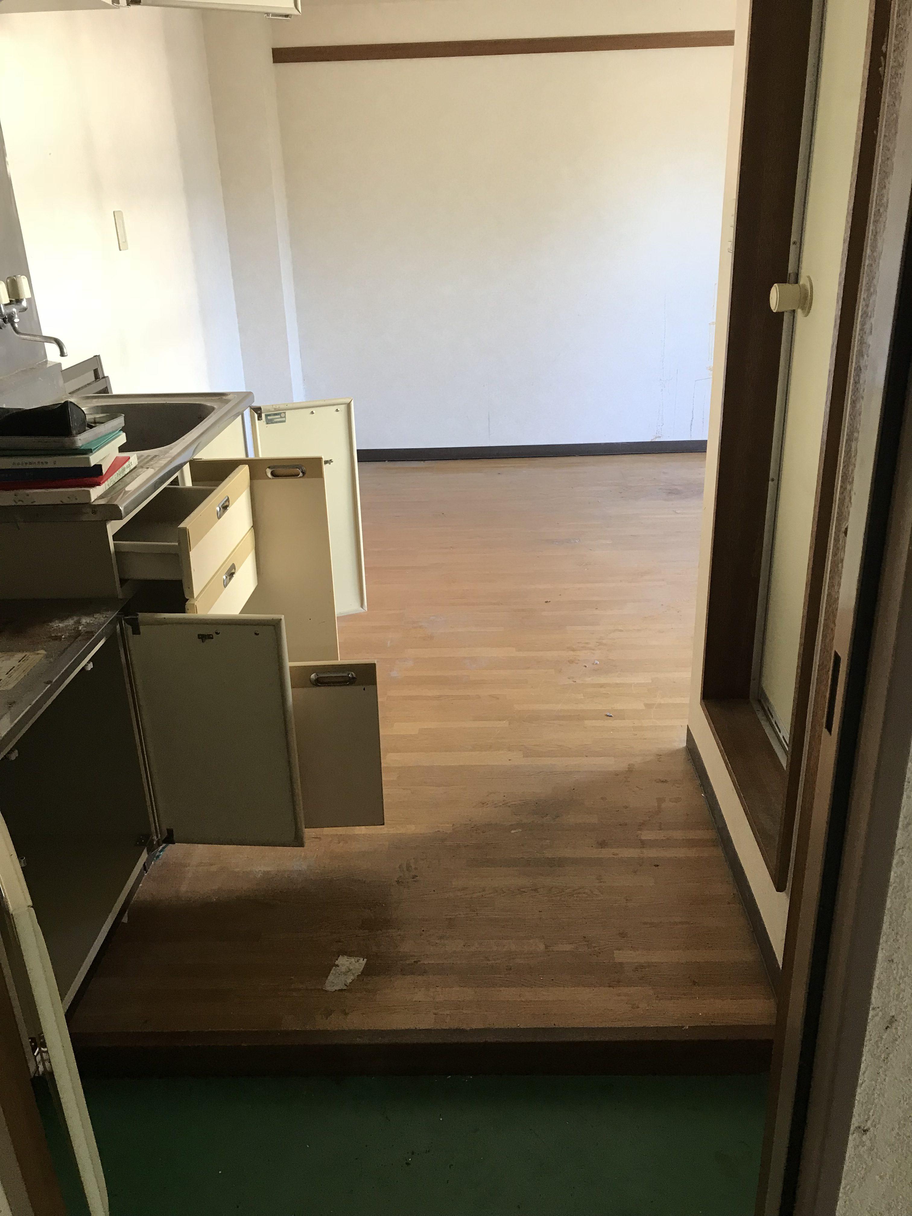 横浜市金沢区 1Rマンション 不用品回収・片付け