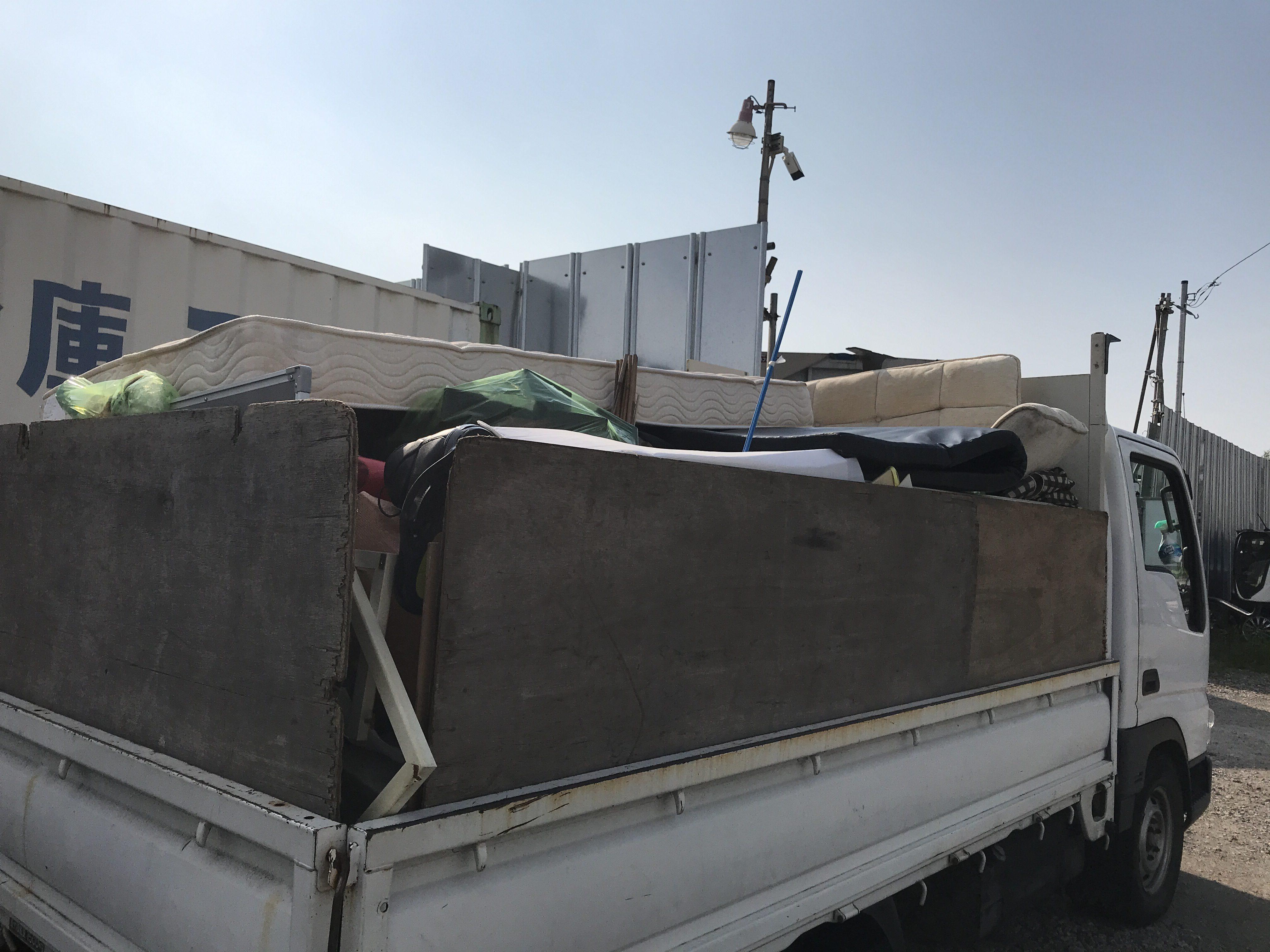 横浜市南区 マンション1室 不用品の処分