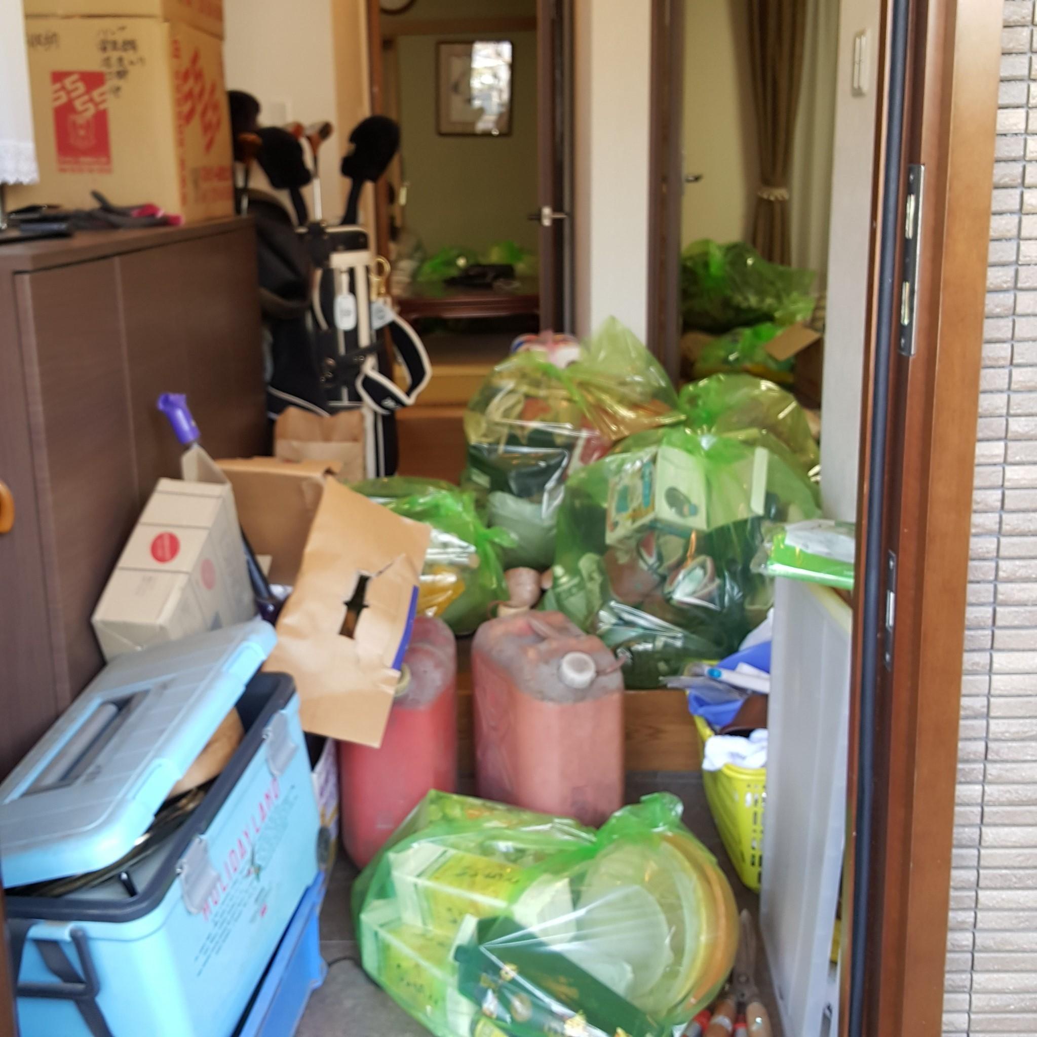 川崎市宮前区 片付け・大量不用品回収