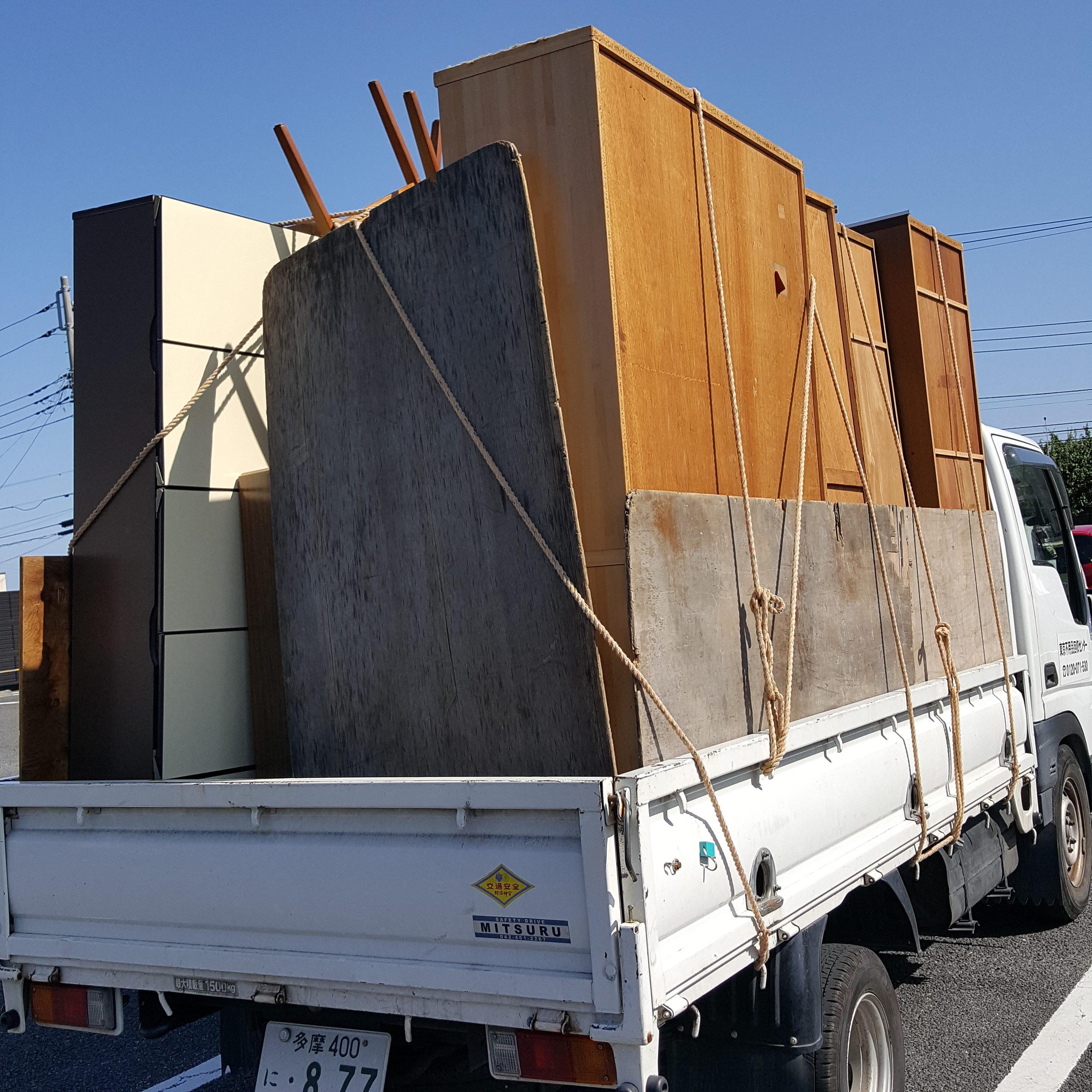 川崎市幸区 団地5階 家具回収