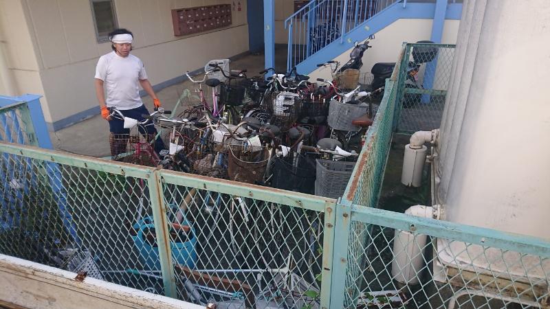 横浜市旭区 不用品 自転車回収