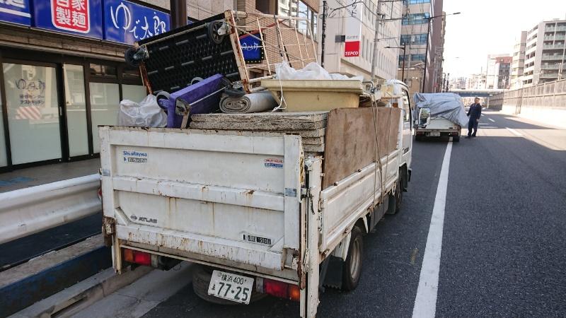 品川区 産業廃棄物回収 不用品回収