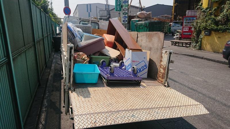横浜市 都筑区 不用品回収