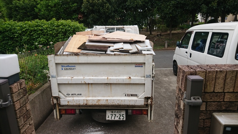 横浜市 青葉区 産業廃棄物回収 不用品回収